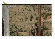 Gate Out Of Virginia City Nv Cemetery Carry-all Pouch