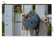 Gate Secured Carry-all Pouch