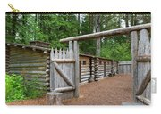 Gate To Log Camp At Fort Clatsop Carry-all Pouch