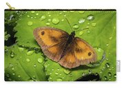 Gatekeeper Butterfly After The Rain. Carry-all Pouch
