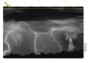 Gates To Heaven  Black And White Carry-all Pouch