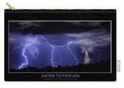 Gates To Heaven Color Poster Carry-all Pouch