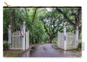 Gates To Myrtle's Plantation In La Carry-all Pouch