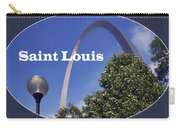 Gateway Arch - Saint Louis - Transparent Carry-all Pouch