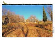 Gateway To A No Trespassing Farm Carry-all Pouch