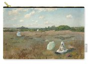 Gathering Autumn Flowers By William Merritt Chase Carry-all Pouch
