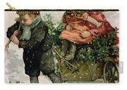 Gathering Holly Carry-all Pouch