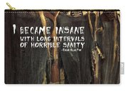 Hallowed Gathering Quote Carry-all Pouch
