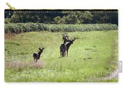Gathering Of Bucks Carry-all Pouch