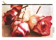 Gathering Rosebuds Carry-all Pouch