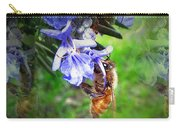 Gathering Rosemary Pollen Carry-all Pouch