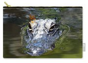 Gator And Dragonfly Carry-all Pouch