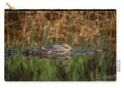 Gator In Canal Carry-all Pouch