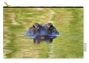 Gator In The Green - Digital Art Carry-all Pouch