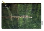 Gator In The Spring Carry-all Pouch