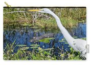 Gator In Waiting  Carry-all Pouch
