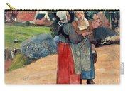 Gauguin: Breton Women, 1894 Carry-all Pouch
