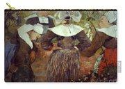 Gauguin: Breton Women Carry-all Pouch