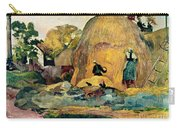 Gauguin: Haystacks, 1889 Carry-all Pouch