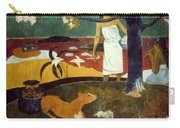 Gauguin: Pastoral, 19th C Carry-all Pouch