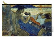 Gauguin: Pirogue, 19th C Carry-all Pouch