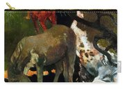 Gauguin: White Horse, 1898 Carry-all Pouch