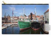 Gdansk Old Town Skyline From The Harbour Carry-all Pouch