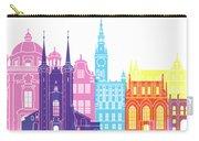 Gdansk Skyline Pop Carry-all Pouch