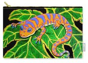 Gecko Hanging On Carry-all Pouch