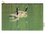 Geese And Babies Carry-all Pouch