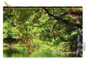 Geese By Pond In Autumn Carry-all Pouch