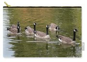Geese On Pond Carry-all Pouch