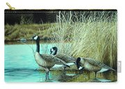 Geese On Watch Carry-all Pouch