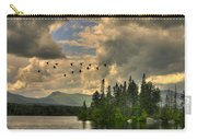 Geese Over Jericho Lake Carry-all Pouch