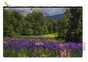 Geese Over Lupine Field Carry-all Pouch