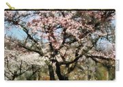 Geese Under Flowering Tree Carry-all Pouch