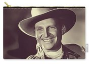 Gene Autry, Vintage Actor/singer Carry-all Pouch