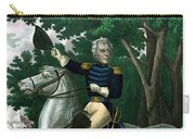 General Andrew Jackson On Horseback Carry-all Pouch