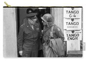 General Eisenhower And General Ridgway  Carry-all Pouch by War Is Hell Store