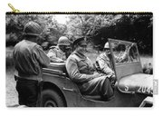 General Eisenhower In A Jeep Carry-all Pouch
