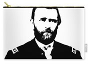 General Grant Black And White  Carry-all Pouch