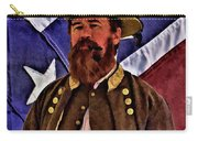 General Jeb Stuart Of Vmi Carry-all Pouch