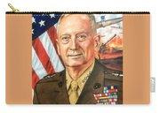 General Mattis Portrait Carry-all Pouch