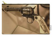 General Patton's Model 1873 Colt 45 Revolver  Carry-all Pouch