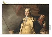 General Washington At The Battle Of Princeton Carry-all Pouch