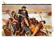 General Washington Crossing The Delaware River Carry-all Pouch by War Is Hell Store