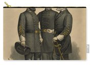 Generals Jackson Beauregard And Lee Carry-all Pouch