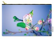 Gentle Apple Tree Flowers Carry-all Pouch