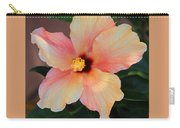 Gentle Hibiscus Carry-all Pouch