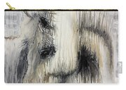 Gentle White Horse Carry-all Pouch